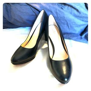 NEW Black Leather Cole Haan/Nike Air Chelsea Pumps